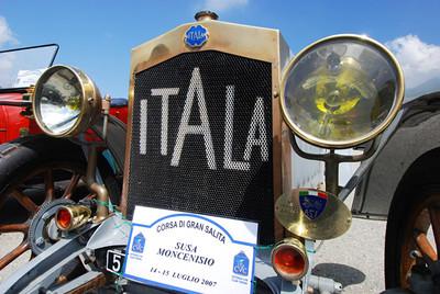 """Fiat, Lancia...old cars"" Moncenisio Italia July07"