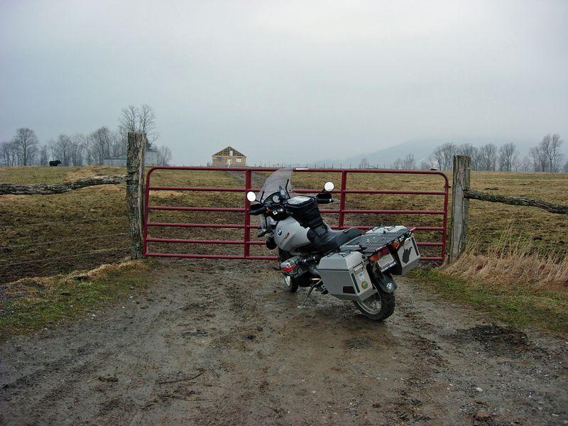 Dry Fork gate