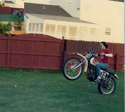 First Motorcycle 1975