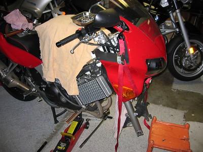 Honda Steering head bearings