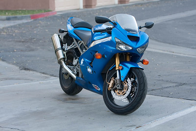 For Sale:  2003 Kawasaki Ninja 636 (29,500 Miles)