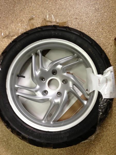 2005 R1200GS Rear Wheel