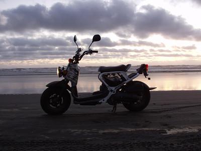 Honda Ruckus   Long Beach, WA