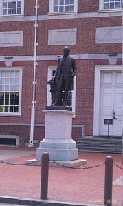George Washington Statue, Independence Hall, Philadelphia