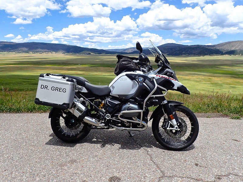 [2013 BMW R1200GS at U.S. Hill]