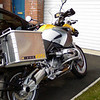 Yellow/Black Reflective R1200GS pannier stickers.<br /> Also available with Red/Blue/Silver.