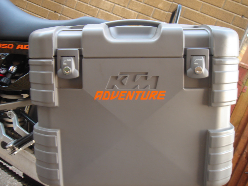 Adventure word in Orange standard vinyl,might appeal to KTM owners?<br /> To be available through humvee-graphics.com in 2 sizes,shown is the larger 125mm long version,also to be available in 90mm long version.