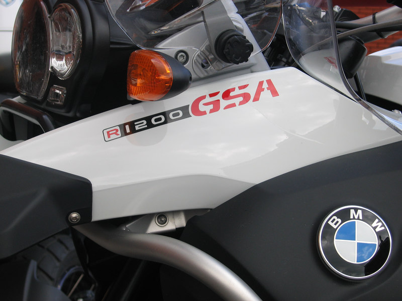 R1200GSA sticker in Red & Black suitable for the beak or a crash helmet.<br /> Available in Black with Red or Silver for the 1200 Adventure.<br /> Available in Reflective or Standard Vinyl.