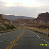 Trip from Oklahoma. <br /> Hwy 95 east of Lake Powell