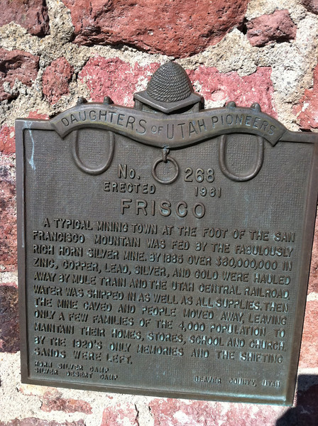 Frisco Ghost Town, UT