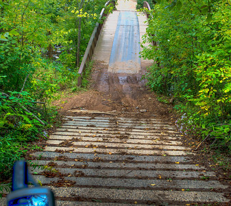 BMW GS @  Trans Minnesota Adventure Trail