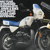 This is the 1988 BMW white and blue magazine ad.<br />  <br /> My White/Blue tank, seat and fairing are in perfect shape and I am trying to keep it that way. I have spare tank, solo seat, 3 rear and two front rim/tire set-ups. In minutes I can go from street bike tires to dirt bike rubber.<br /> <br /> My 1988 was bought new by Bob Ganser. The BMW has updated suspension, Fox Racing rear and Race Tech front. Led brake light, 6 puck Billet front brake, TWE skid plates, Fat Bars, tach and clock gauge kit, updated starter, speedometer & driveshaft make this my my do anything bike.