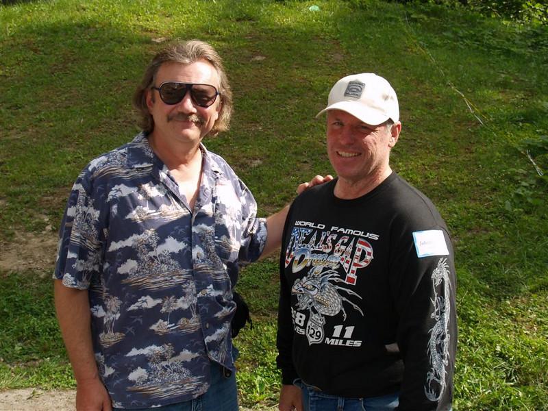 John Bunton and guest Steve