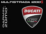 Ducati Multistrada 1200 Garmin Zumo splash screen