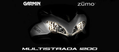 Multistrada 1200 Garmin Zumo 660 splash screen