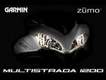 Multistrada 1200 Garmin Zumo 550 splash screen