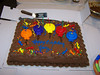 Hon'z didn't know it was about his B'day till Marklyn brought in the cake.