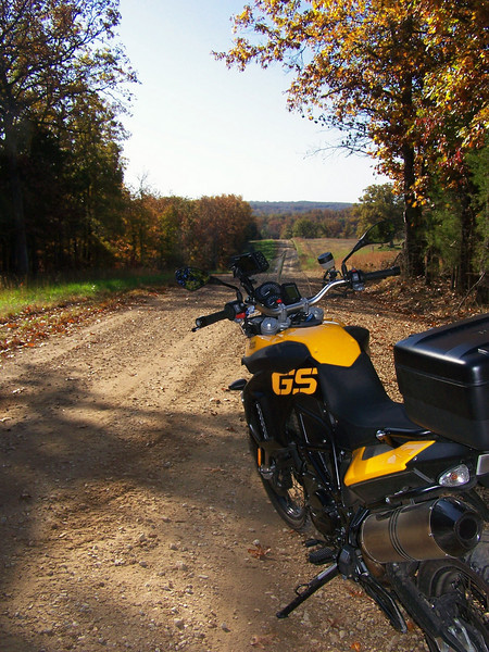 """First thing's first. If you live in the city especially a rather large city, you have to get out of town to get to the good stuff. That means, interstate highway. <br /> <br /> I use to have a K75S. It would do fine on the highway, but it would get buzzy at around 75-80 MPH. The F800GS has a 6th gear. I found that 80 MPH was it's sweet spot. That's a little slower than my R1150GS which likes to be at 85-90 MPH. That doesn't mean that it won't go 90. When I rolled on the throttle to pass, it got there really quick. I didn't even need to downshift!<br /> <br /> Before I even got on the bike, I was really concerned that the F800GS would have the highway characteristics of a couple former bikes I had owned previously that had 21"""" front wheels. Both the KLR and an LC4 had an unsettling wobble at speed that I really did not like. This didn't happen on the F800GS. As a matter of fact. This bike has that best feel for the road than any telescopic forked bike I have ever ridden. I really am spoiled with the R1150GS's paralever suspension. The F800GS takes a little more effort at the bar to steer than the 1150GS but I got use to it in short order."""