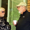 Soup stop at the Phil's home. Larry and Steve.
