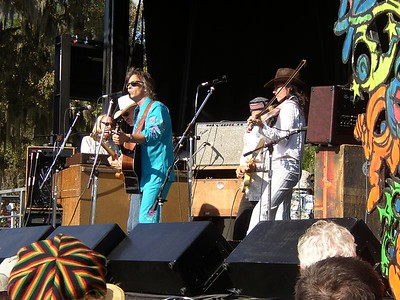 Jim Lauderdale with Donna the Buffalo