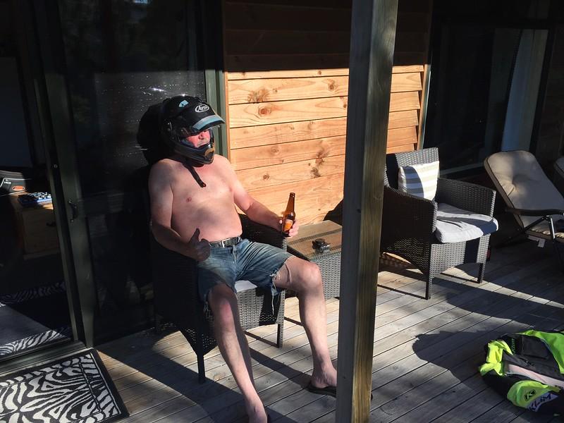 Man + Helmet = Real Man