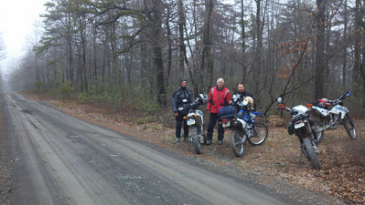 We found about 70 miles of dirt (mostly) roads to explore and only put a dent in the roads and trails in the Michaux State Forest.