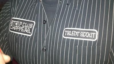 Alain's shirt.....dreamer!