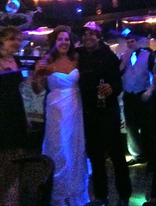 Tom tried to steal the bride.....no luck!