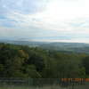 The view from Sideling Hill rest area on The National Highway/I68 looking north towards PA.  Was a cool but beautiful morning.