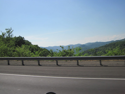 Heading into the smokies of Tennessee