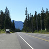 Looking eastbound on Hwy 12 at White Pass. Lew K. Photo.