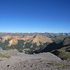 One of several look out points you can ride to on Imogene Pass.