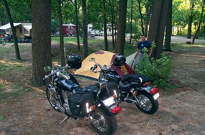 Camping at Silver Lake
