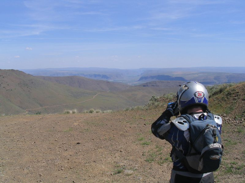 Here is Trav snapping a pic in the middle of our epic ride with Brandon before his move to Idaho. 60 miles of Green Dots roads, then 40 miles of Mission Ridge.