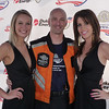 Trey Smith and podium girls...