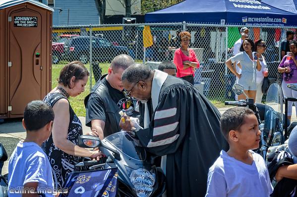 Newark Knights M/C Bike Blessing 2014