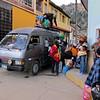 Listos para embarcarnos hacia el distrito de Parobamba, estuvo repleto ese vehiculo pero teníamos las ganas de llegar a nuestro destino, con !4 horas de viaje!.