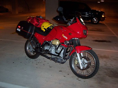 Loaded & ready to go in the work parking garage in the morning. Headed to the Blue Ridge Parkway by afternoon!