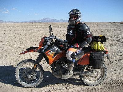 gaspipe & his LC4e in Baja.