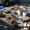 It was mixed in with essentially a 40 year collection of the owner's various motorcycle projects, many of the boxes deteriorated to where they could not be moved so I resorted to picking up individual pieces and loading them in kitty litter buckets for inventorying out in the light of the driveway.
