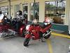 Baby Ninja before the ride.