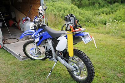 My 08 WR450F