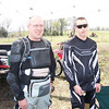 Me and Damian Moheney as we prep for the hare scramble
