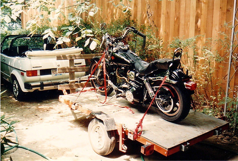 Just back from the purchase.  Few of the sillier aspects of this machine - besides the fact he used a screw driver to bridge the contacts on the solenoid to start it - was completely non functioning front brakes and a funky foward control setup where he bolt another shifter lever onto the original one to extend it forward.
