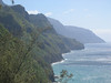 """Another view from our mountain hike, The Na Pali Coast. It has been featured in many movies including Jurassic Park, King Kong, and Raiders of the Lost Ark. """"Na Pali"""" means """"The Cliffs"""" in Hawaiian. Ride Report here <a href=""""http://www.advrider.com/forums/showthread.php?t=217718&pp=15"""">http://www.advrider.com/forums/showthread.php?t=217718&pp=15</a>"""