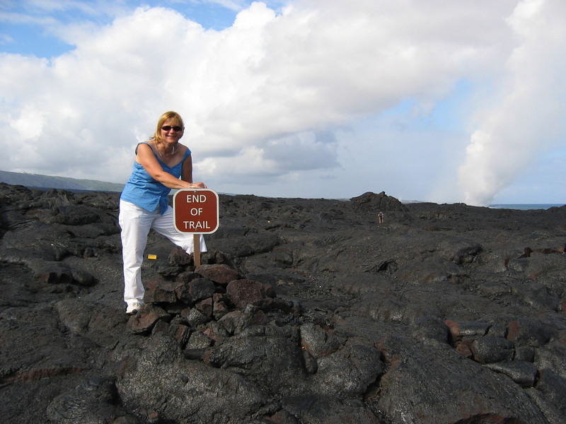 """End of old trail lava flow,  Volcanoes National Park Ride Report here <a href=""""http://www.advrider.com/forums/showthread.php?t=217718&pp=15"""">http://www.advrider.com/forums/showthread.php?t=217718&pp=15</a>"""