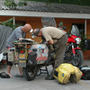 Ron & CJ, repairs in Choloteca, Honduras
