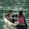 Kuna Indian canoe