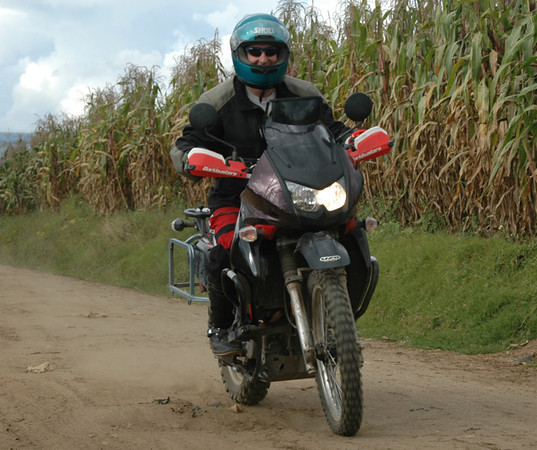 Mike and his KLR
