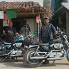 My Harley escort into Salina Cruz